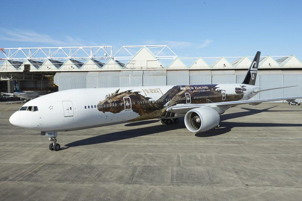 AirNZ_Hobbit_Plane